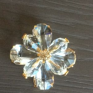 Chanel Crystal Brooch.